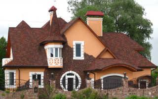 Варианты крыши дома с пристроем