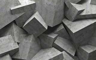 Таблица пропорций компонентов бетона цемент м400