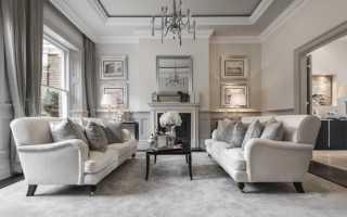 Белая мебель на фоне белой стены