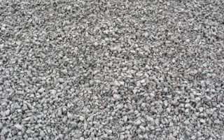 Пропорции цемент отсев щебень