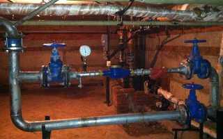 Рабочее давление в водопроводе