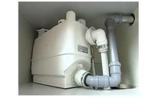 Принудительный насос для канализации в квартире