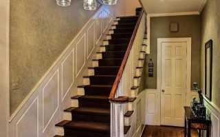 Размеры лестницы на второй
