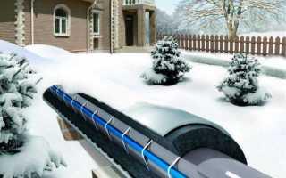 Провод для обогрева водопроводных труб монтаж