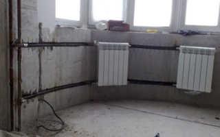 Схема подключения радиаторов отопления в частном