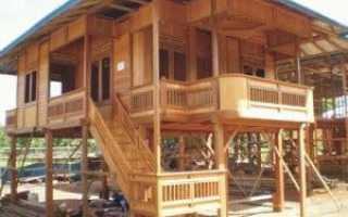 Какой фундамент под деревянный дом