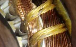 Схема включения электродвигателя с пусковым конденсатором