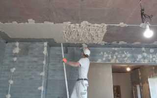 Штукатурка как строительный материал