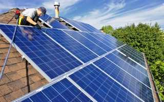 Солнечные батареи для электроснабжения дома