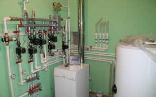 Схема подключения газового отопления в частном доме