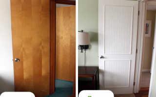 Как отреставрировать дверь