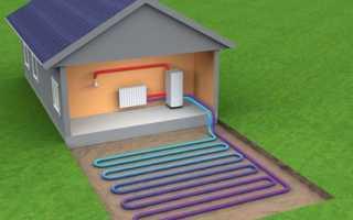 Схема однотрубного отопления частного дома