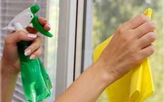 Убрать грунтовку оконного стекла