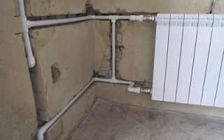 Схема подключения отопления без насоса