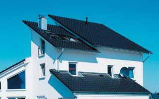 Варианты крыши для мансарды
