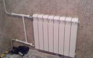 Схема подключения батареи отопления в квартире