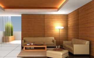 Белые деревянные панели для стен