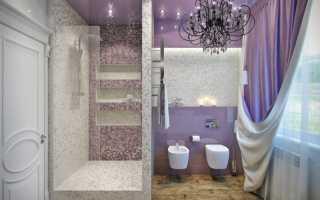Варианты ремонта ванной комнаты с душевой