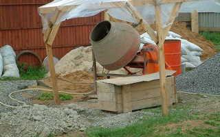 Бетономешалка пропорция цемент гравий песок