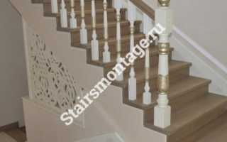 Прямые деревянные лестницы на второй этаж фото