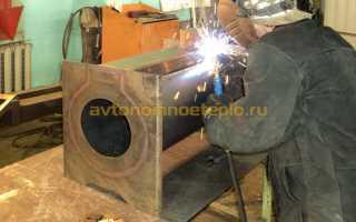 Печь для бани металл