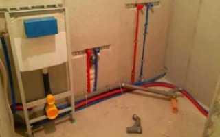 Проведение водопровода в дом