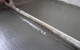 Устройство цементной стяжки по деревянному полу