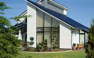 Варианты односкатных крыш
