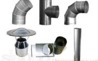 Диаметр трубы для газового котла