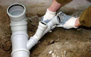 Прокладка внутренней канализации