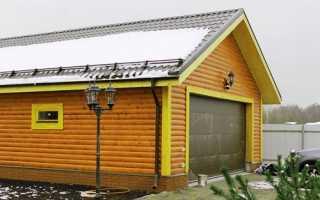Варианты крыши для гаража