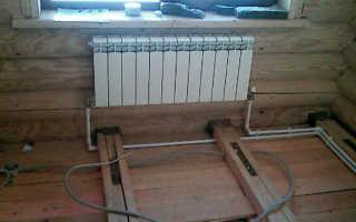 Схема разводки системы отопления в частном доме