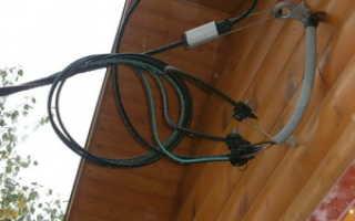 Способы ввода электричества в частный дом