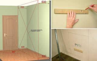 Как повесить шкаф на стену из гипсокартона