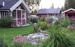 Как благоустроить садовый участок