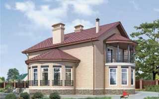 Вальмовая крыша с эркером фото