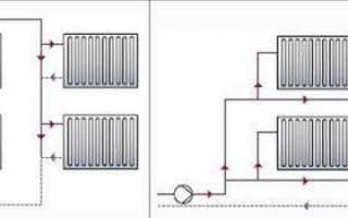 Схема подключения отопления в частном доме фото