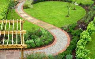 Из чего можно сделать дорожки в саду
