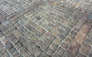 Укладка тротуарной плитки самостоятельно