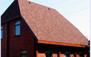 Вальмовая крыша пристроя