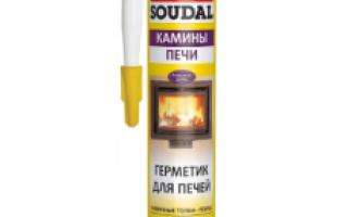 Герметик термостойкий прозрачный