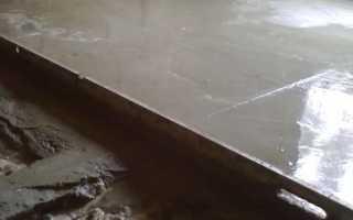 Как делать цементную смесь для стяжки пола
