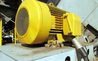 Схема включения асинхронного электродвигателя