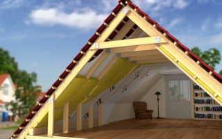 Как утеплять мансардный этаж с двускатной крышей