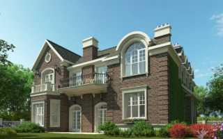 Элементы отделки фасада дома