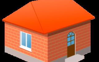 Вальмовая крыша на квадратном доме