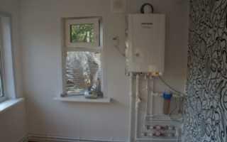 Допуски установки газового котла в частном доме