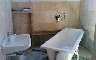 Виды ремонта в ванной комнате фото