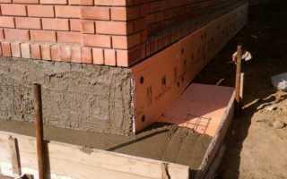 Как утеплить цоколь дома снаружи пеноплексом