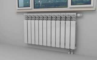 Схема подсоединения батарей отопления